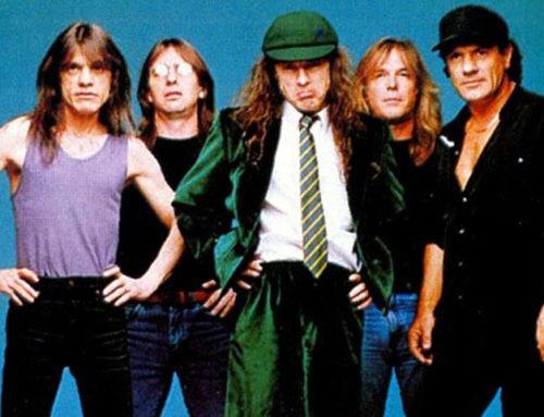 Thunderstruck accordi AC/DC