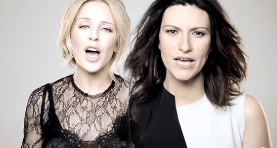 Laura Pausini feat Kylie Minogue